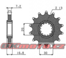 Reťazové koliesko SUNSTAR 411-15 - Honda CRF 1000 L Africa Twin, 1000ccm - 16-19