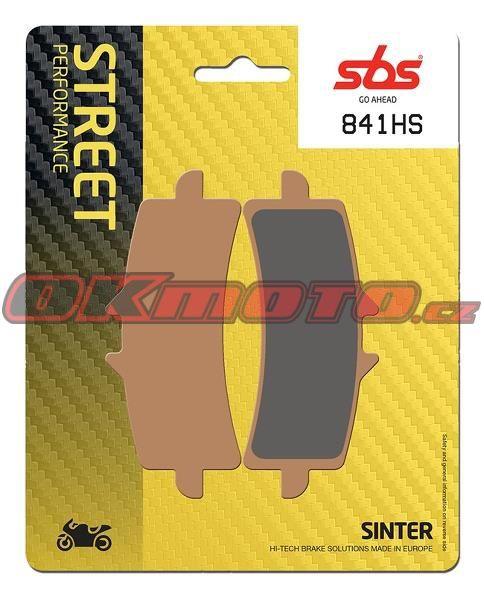Predné brzdové doštičky SBS 841HS - Ducati 1260 S Multistrada, 1260ccm - 18-19 SBS (Bendix)
