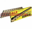 Reťaz DID - 520VX3 - X-ring - 78 článkov-zlatý