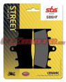 Predné brzdové doštičky SBS 686HF - Suzuki GSX 1300 R Hayabusa, 1300ccm - 99-07