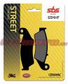 Predné brzdové doštičky SBS 694HF - Honda CR 125 R, 125ccm - 95-08