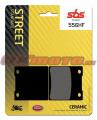 Zadné brzdové doštičky SBS 556HF - Suzuki GSX 1300 R Hayabusa, 1300ccm - 99-07