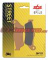 Zadné brzdové doštičky SBS 671LS - Ducati 1260 Multistrada, 1260ccm - 18-19