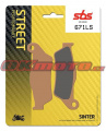 Zadné brzdové doštičky SBS 671LS - Ducati 1260 Multistrada Enduro, 1260ccm - 19-19