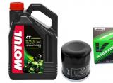 MOTUL 5100 4T 10W-40 MA2 - 4L + olejový filter Vesrah SF-3009