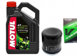 MOTUL 5100 4T 10W-40 MA2 - 4L + olejový filter Vesrah SF-4005
