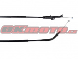 Plynové lanko - Kawasaki KLE 650 Versys, 650ccm - 07-10