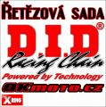 Reťazová sada D.I.D - 520VX3 X-ring - Yamaha WR 250 F, 250ccm - 15-21   Ocelová rozeta, Duralová rozeta, Nerezová rozeta