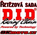 Reťazová sada D.I.D - 520VO O-ring - Honda CRF 450 R, 450ccm - 19-20   Ocelová rozeta, Duralová rozeta