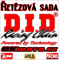 Reťazová sada D.I.D - 520ERVT GOLD X-ring - Honda CRF 450 R, 450ccm - 19-20   Ocelová rozeta, Duralová rozeta