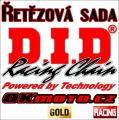 Reťazová sada D.I.D - 520MX GOLD - Honda CRF 450 R, 450ccm - 19-20   Ocelová rozeta, Duralová rozeta